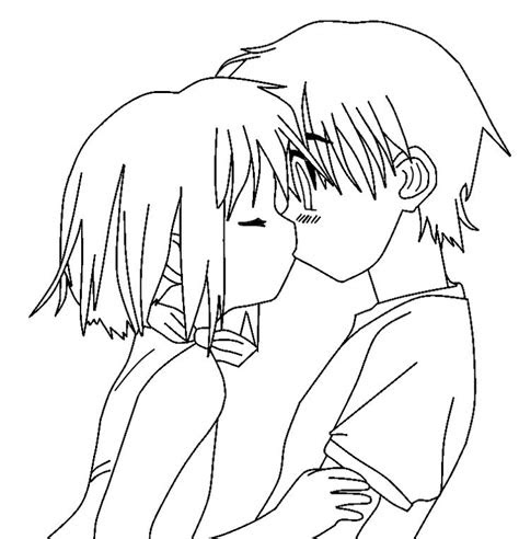 cute couple love easy sketches sketches drawings anime