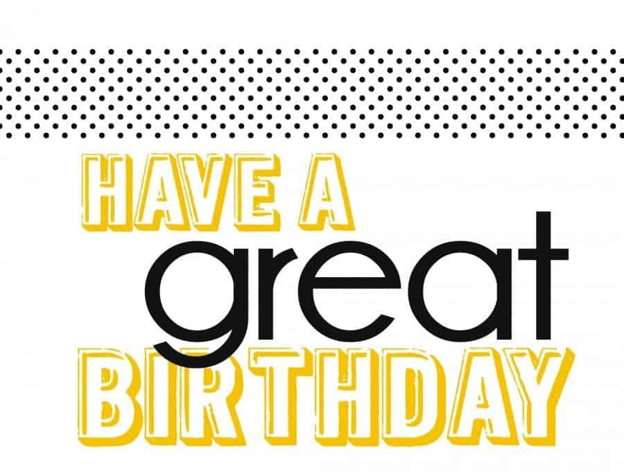 free printables for birthdays