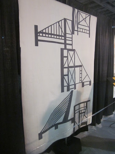 """""""Building Bridges"""" by Jacquie Gering and Sheryl Schleicher of Chicago, IL"""