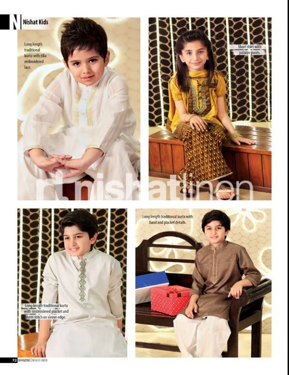 Nishat-Linen-New-Latest-Eid-Suits-Kids-Wear-Dresses-Collection-2013-6
