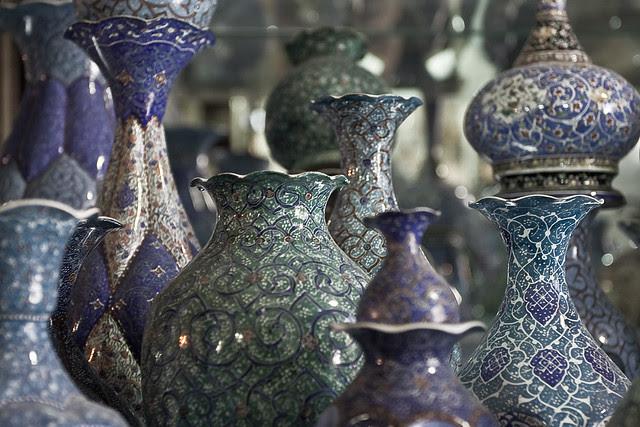 Persian vases