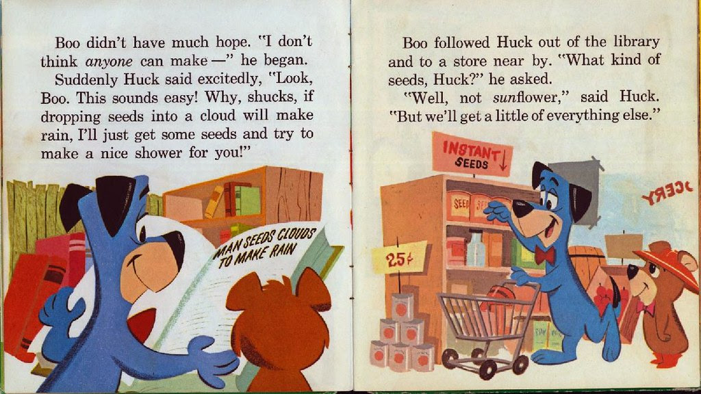Huckleberry Hound the Rainmaker005