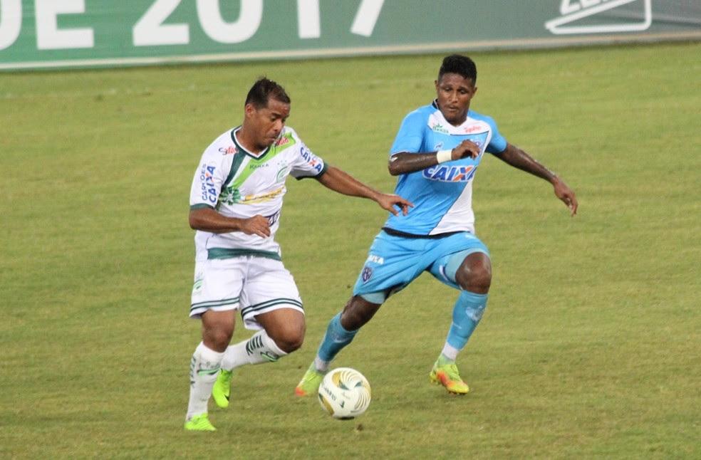 Marcos Aurélio é vice-artilheiro do time no ano com sete gols (Foto: Olímpio Vasconcelos)