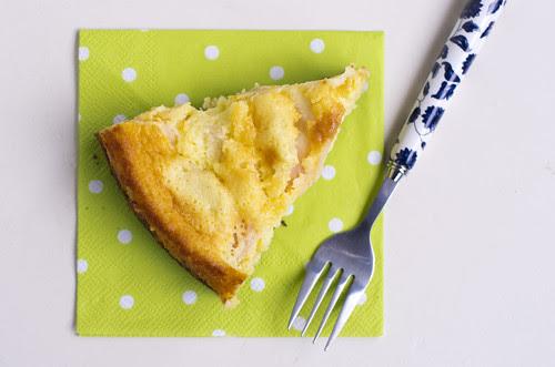 Õuna-juustukook / Apple cheesecake