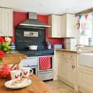 Red, white and blue kitchens & Coronation accessories | Beautiful ...