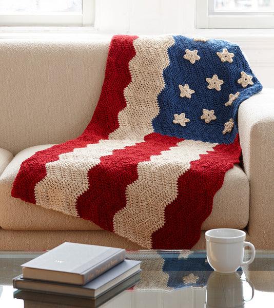 Flag Afghan Pattern (Crochet) Free crochet pattern