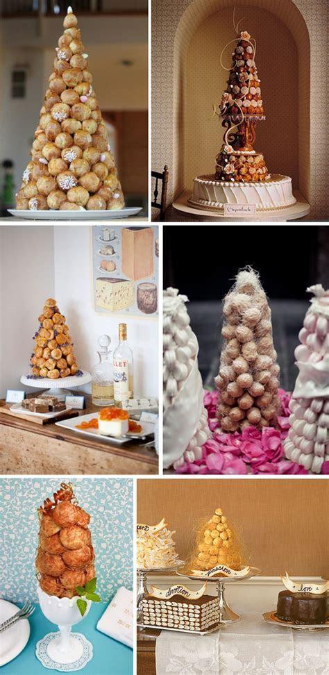 Croquembouche Wedding Cakes   The Destination Wedding Blog