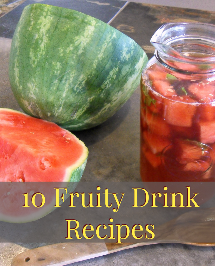 10 Fruity Drink Recipes