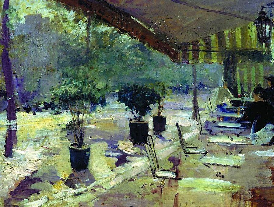 Parisian Cafe Constantin Alexeevich Korovin