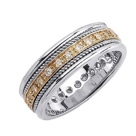 Men Gold Diamond Wedding Bands   Wedding and Bridal