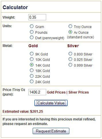 What are My 14K Gold Wedding Rings Worth?   Precious Metal