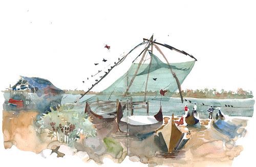 Chinese Fish Nets