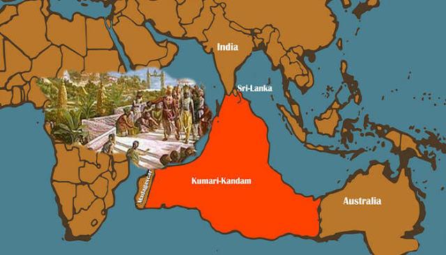 Lemuria in Australia & the Pacific