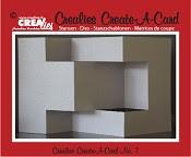 Crealies Create A Card stans no. 7 / Crealies Create A Card die no. 7