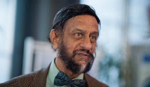 Rajendra Pachauri, Presidente del Grupo Intergubernamental de Expertos sobre el Cambio Climático (IPCC).
