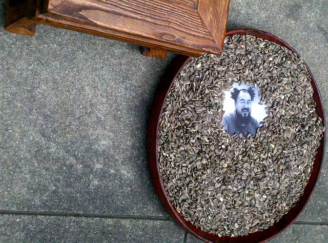 1001 Chairs for Ai Weiwei-1001把椅子给艾未未 2011年4月17日 美国旧金山中国总领馆前