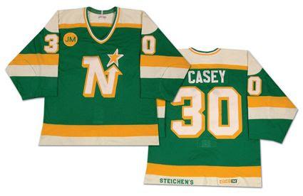 Minnesota North Stars 87-88 Casey jersey