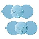 エレコムヘルスケア 軽量コンパクト&コードレス 家庭用低周波治療器 エクリアリフリー 2個入り ブルー HCM-FP01BU2 HCM-FP01BU2