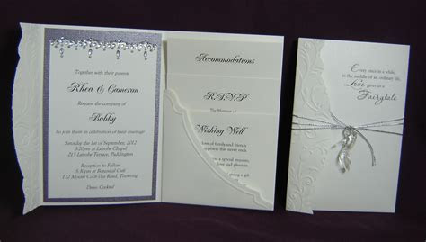 Fairy Tale Wedding Invitation   passionate about paper