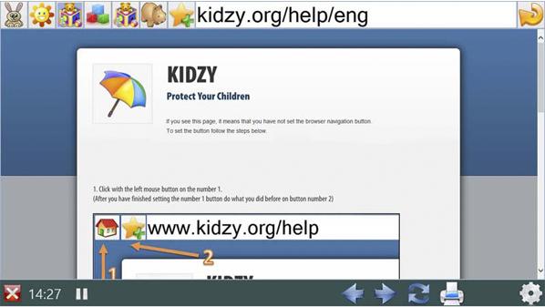 لاتستثني تماماً جميع المواقع التي لا تلائم الأطفال الصغار.