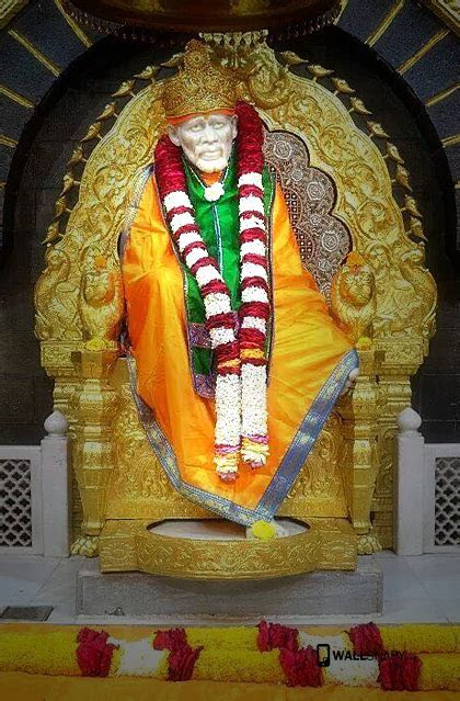 Hd shirdi sai baba statue for mobile   Primium mobile