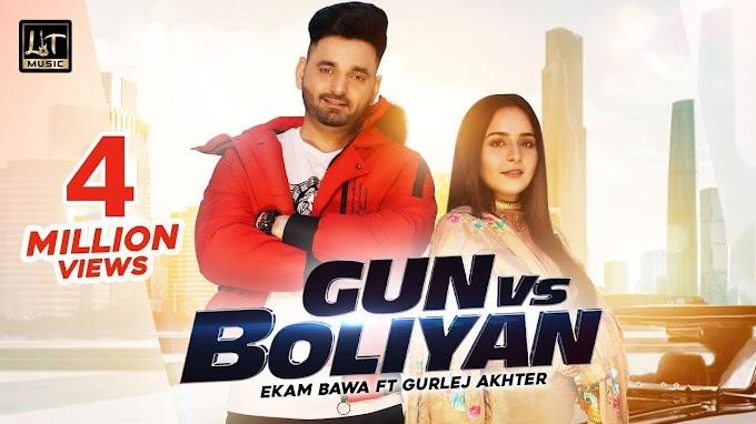Gun vs Boliyan lyrics - Ekam Bawa Ft