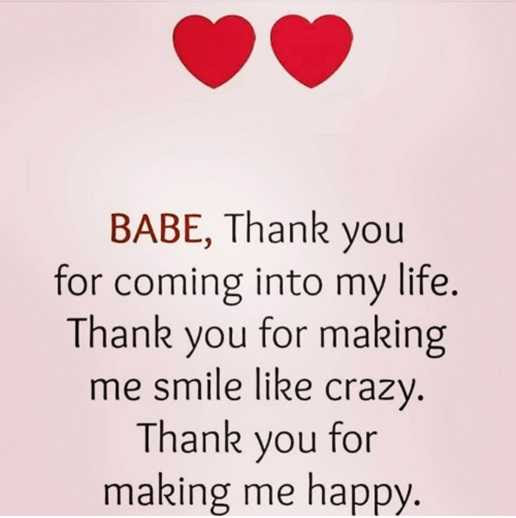 Inspirational Love Quotes Love Sayings Thank You Making Me Happy Love Boom Sumo