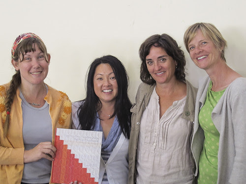 Me, Paula, Denyse and Amy with her book