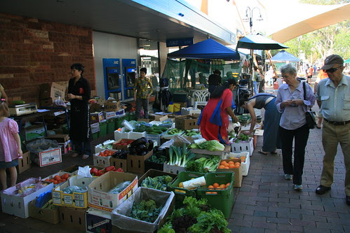Todd Street Mall markets