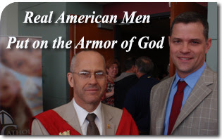 Real American Men Put on the Armor of God