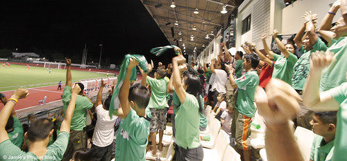 Cheers as Phuket score a second goal
