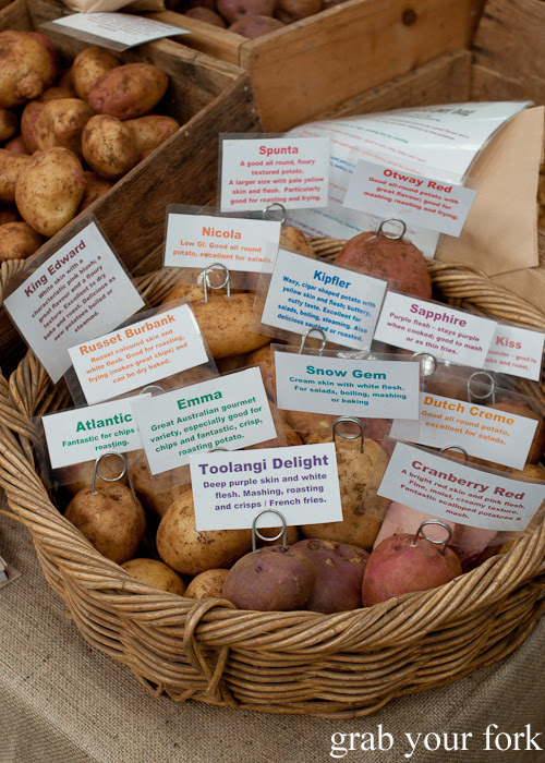 Highland Gourmet Potatoes at the Sunday Marketplace, Rootstock Sydney 2014