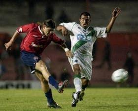 Riggio, pretendido por un club mexicano, remata ante Leiva