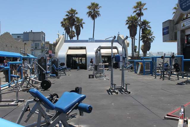 Muscle Beach Venice   Flickr - Photo Sharing!