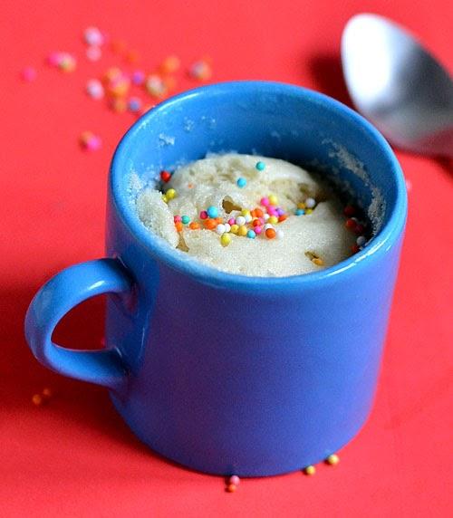 Minute Cake In A Mug No Egg