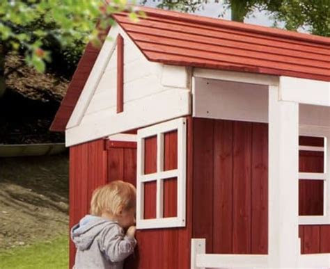spielhaus ida schwedenhaus kinderspielhaus  top qualitaet