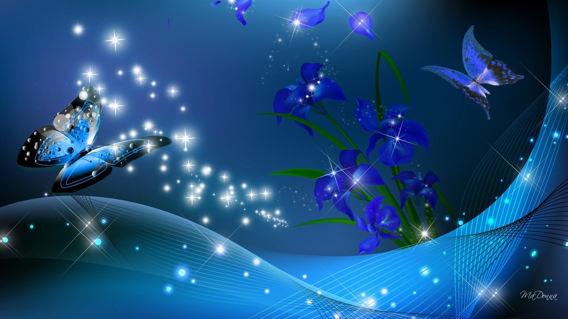 Blue Sparkle Wallpaper (65+ images)