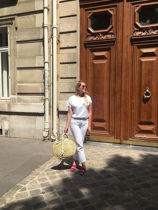 photo 1-jean blanc levis vintage_mules roses Mango panier osier french basket_zps0vizmvrq.jpg