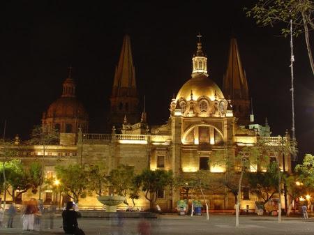 Imagen de Guadalajara, México, ciudad a la que emigró Xavier Moya en su adolescencia