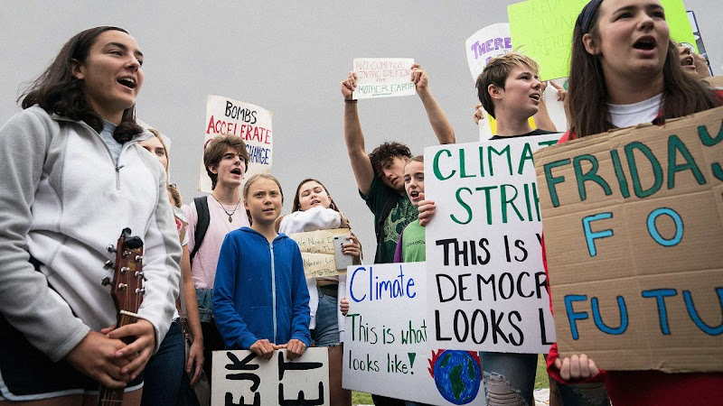 Where and when to find a climate strike event near you