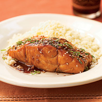 Bourbon-Glazed Salmon Recipe
