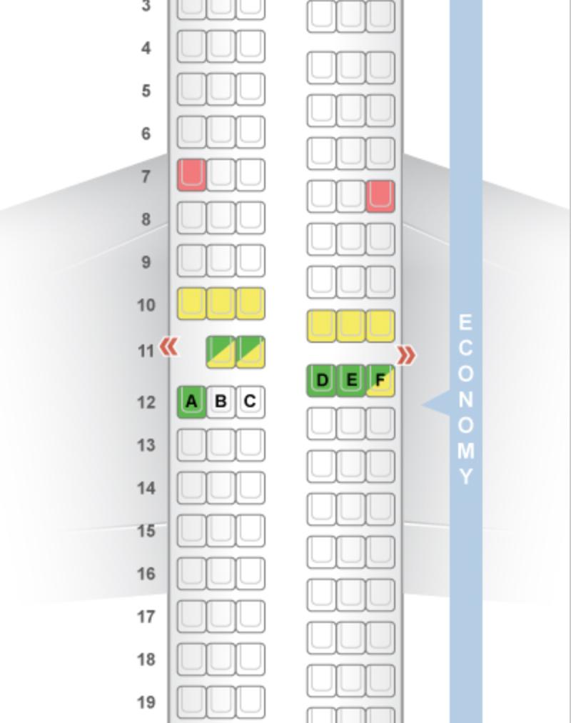 Airbus A320 Eurowings Seatguru