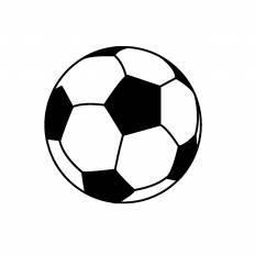 サッカーボールシルエット イラストの無料ダウンロードサイト
