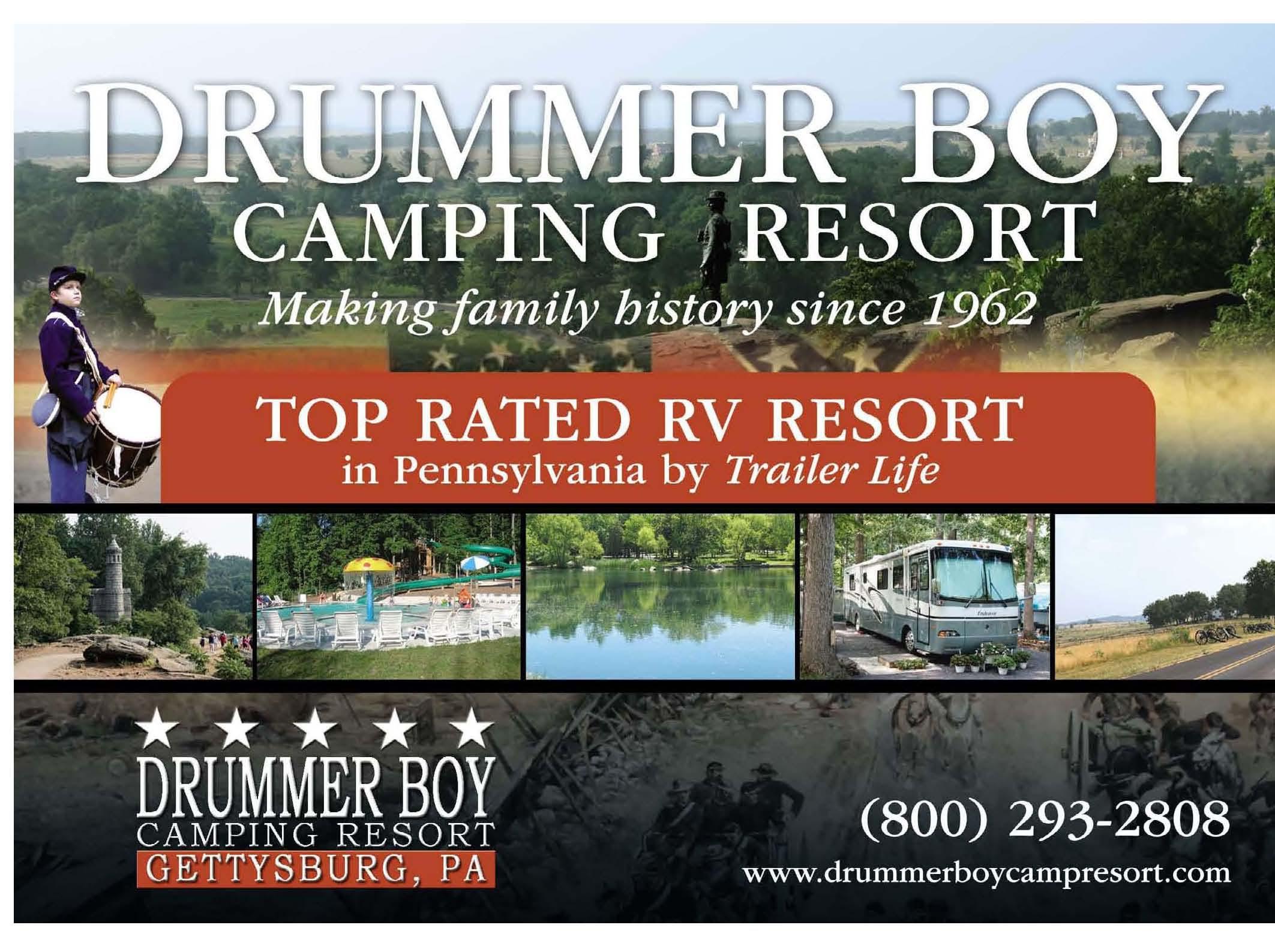 Drummer Boy Camping Resort 1300 Hanover Rd Gettysburg Pa