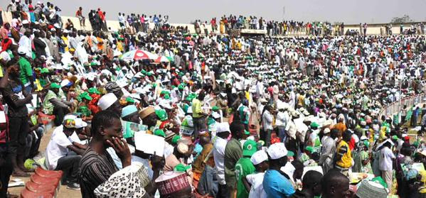 PDP Presidential Campaign Rally In Kaduna (Photos)