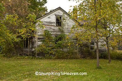 Abandoned House, Vernon County, Wisconsin