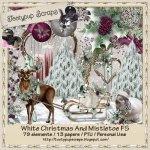 White Christmas And Mistletoe FS PU