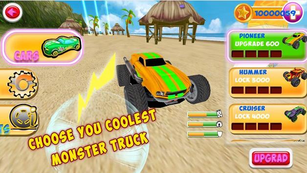 Smash Monster Truck 3D