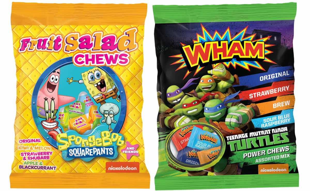Tangerine Confectionery partners with Nickelodeon on sweet chews