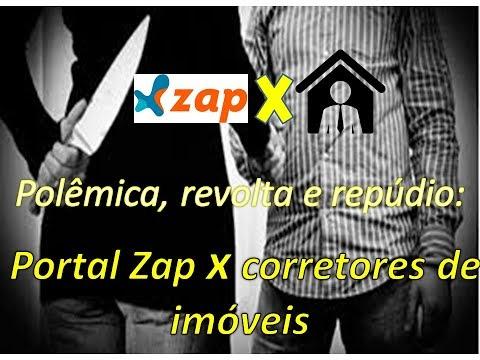 Revolta e repúdio no Mercado imobiliário - portal Zap x corretores de imóveis #zap #polemica #revolta